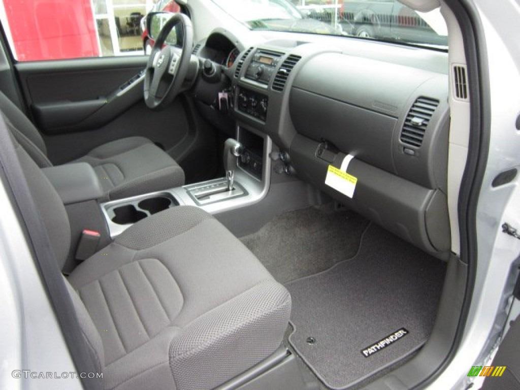 Graphite Interior 2012 Nissan Pathfinder S 4x4 Photo