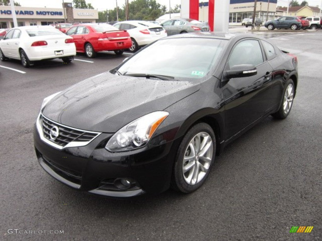 Super Black 2012 Nissan Altima 3 5 Sr Coupe Exterior Photo