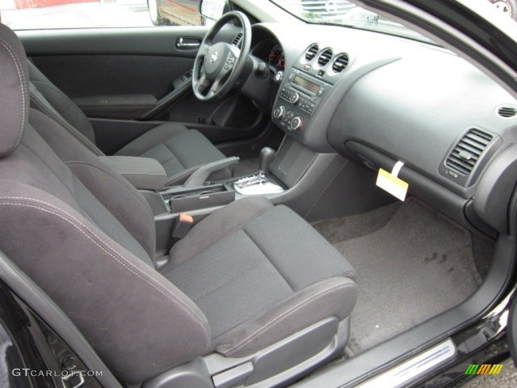 Charcoal Interior 2012 Nissan Altima 3.5 SR Coupe Photo #54954799 ...