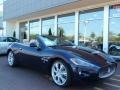 Blu Oceano (Blue Metallic) 2012 Maserati GranTurismo Convertible GranCabrio