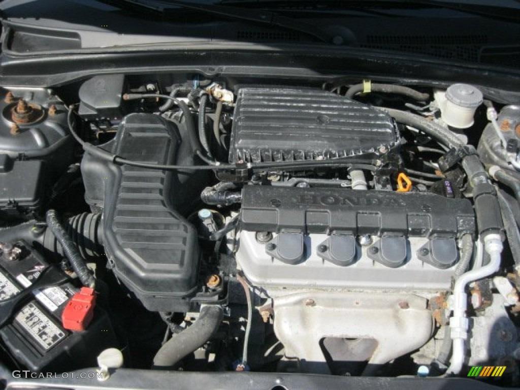 2004 honda civic lx sedan 1 7l sohc 16v vtec 4 cylinder engine photo 54957400 gtcarlot