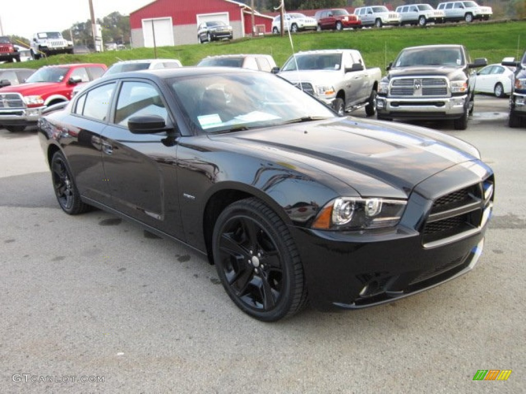 Pitch Black 2011 Dodge Charger R T Mopar 11 Exterior