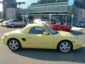 Pastel Yellow 1997 Porsche Boxster Gallery