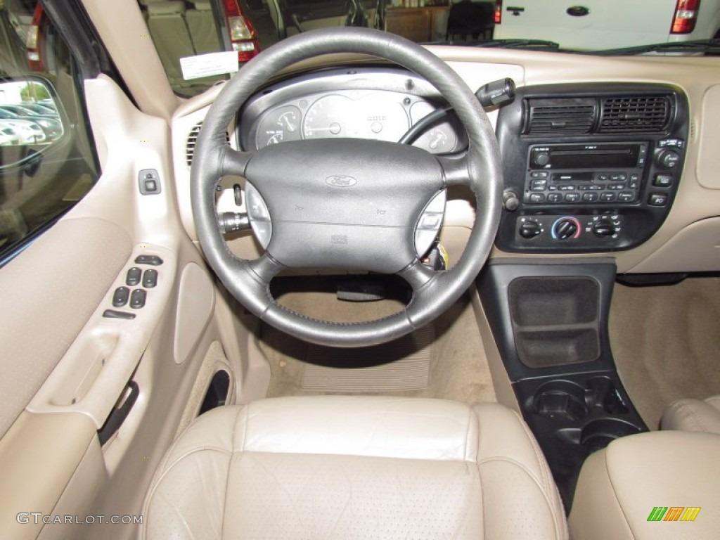 1998 Ford Explorer Xlt Medium Prairie Tan Steering Wheel Photo 54973729