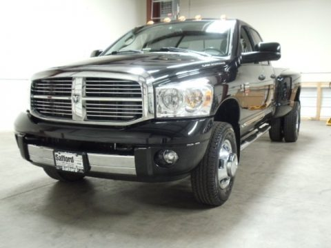 2008 Dodge Ram 3500 Laramie Quad Cab 4x4 Dually Data, Info and Specs