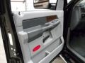 2008 Brilliant Black Crystal Pearl Dodge Ram 3500 Laramie Quad Cab 4x4 Dually  photo #9