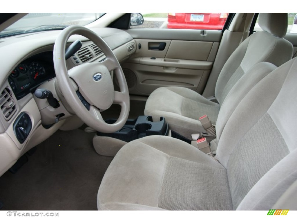 Medium dark pebble beige interior 2006 ford taurus se photo 54997900