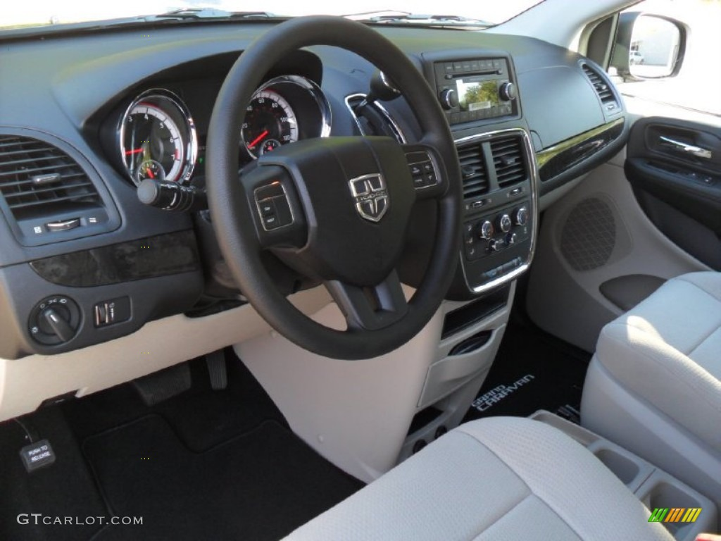 Black Light Graystone Interior 2012 Dodge Grand Caravan Se Photo 55009695