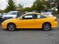 Yellow 2003 Chevrolet Cavalier LS Sport Coupe Exterior