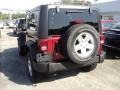 2012 Deep Cherry Red Crystal Pearl Jeep Wrangler Sport S 4x4  photo #4