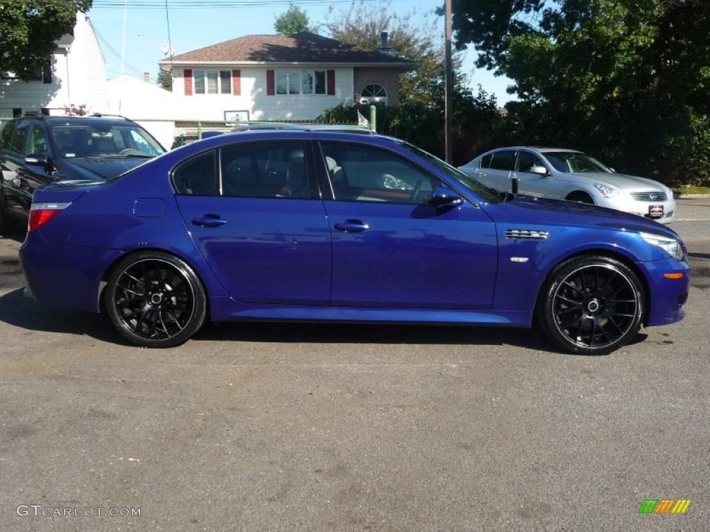 Interlagos Blue Metallic 2008 Bmw M5 Sedan Exterior Photo