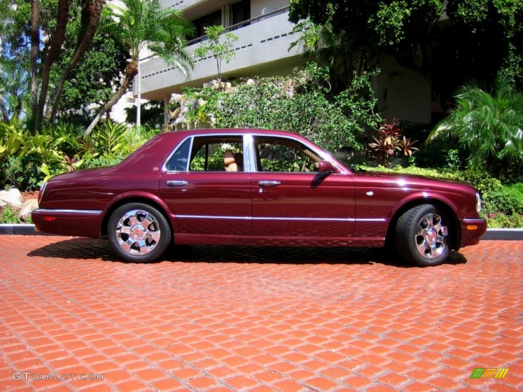 2001 burgundy bentley arnage red label 55019277 photo 5 car color galleries. Black Bedroom Furniture Sets. Home Design Ideas