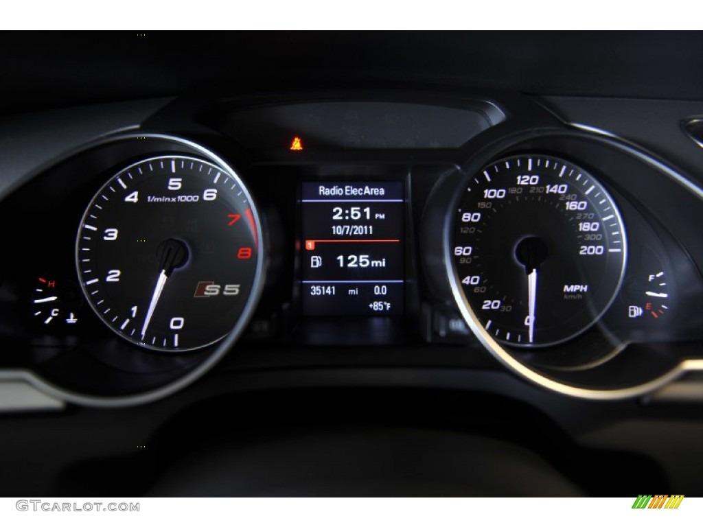 2009 Audi S5 4 2 Quattro Gauges Photo 55024731 Gtcarlot Com