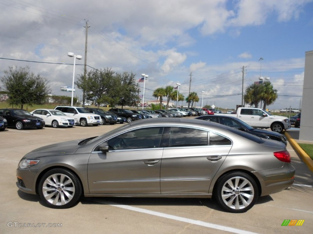 light brown metallic 2009 volkswagen cc vr6 sport exterior. Black Bedroom Furniture Sets. Home Design Ideas