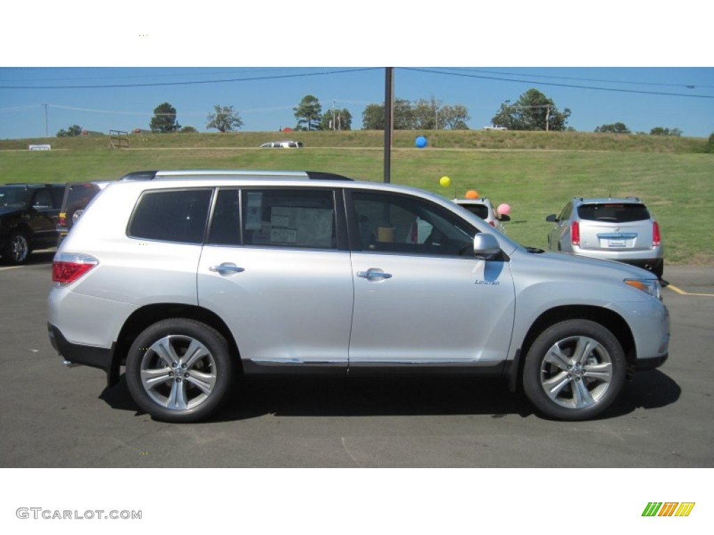 Blizzard White Pearl 2012 Toyota Highlander Limited