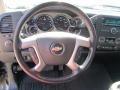 2008 Chevrolet Silverado 1500 Light Titanium/Dark Titanium Interior Steering Wheel Photo