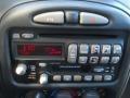 2002 Pontiac Grand Am Dark Pewter Interior Audio System Photo