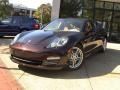 Front 3/4 View of 2012 Panamera 4