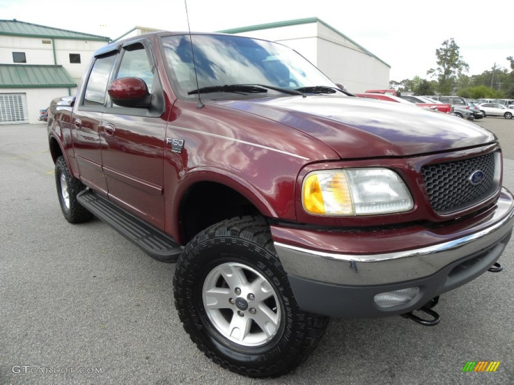 Chestnut metallic 2001 ford f150 xlt supercab 4x4 exterior photo - Toreador Red Metallic Ford F150