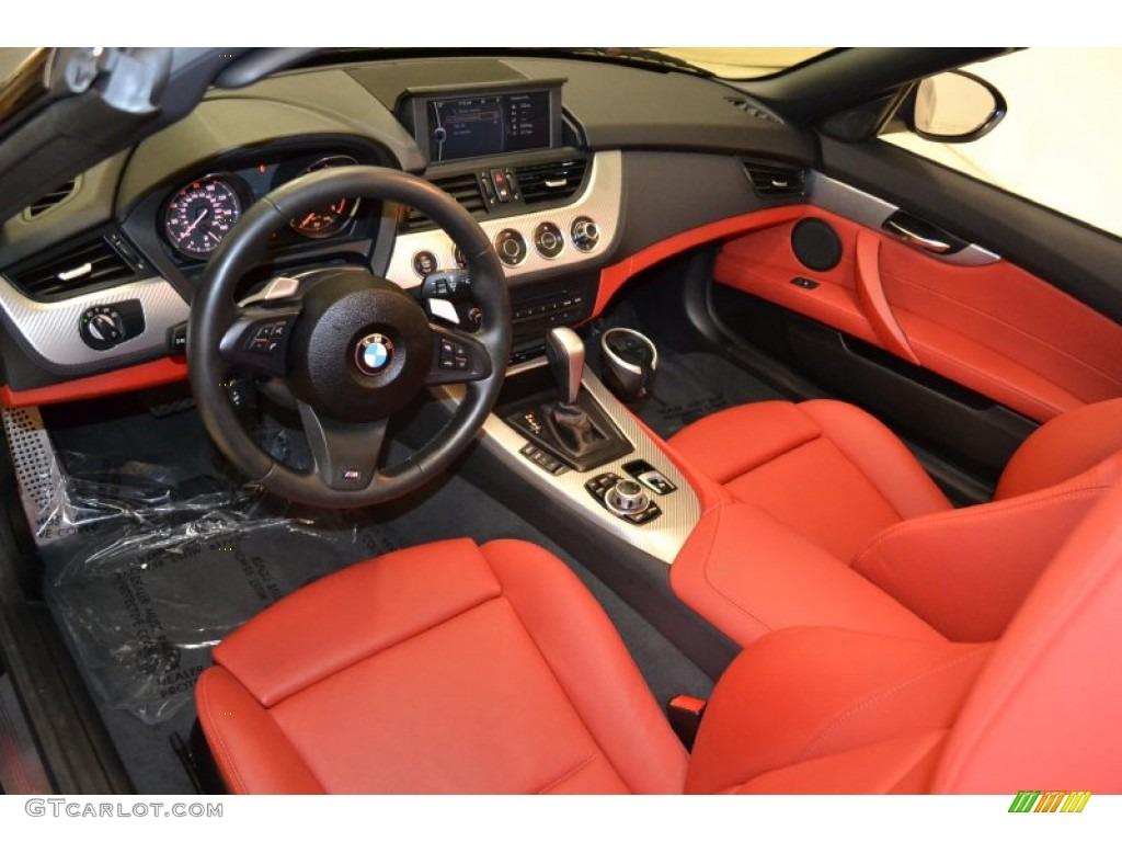 Coral Red Interior 2011 Bmw Z4 Sdrive30i Roadster Photo 55053078 Gtcarlot Com