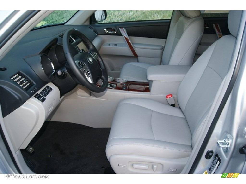 Ash Interior 2012 Toyota Highlander Limited 4wd Photo 55056645