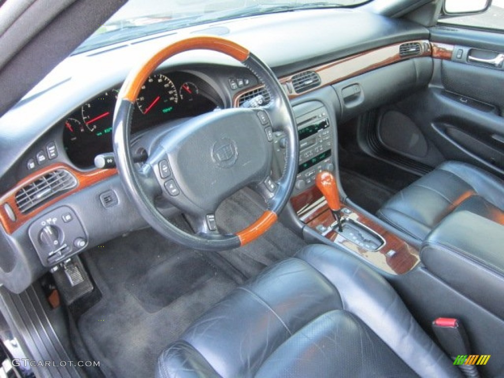 Black Interior 2002 Cadillac Seville Sts Photo 55060383