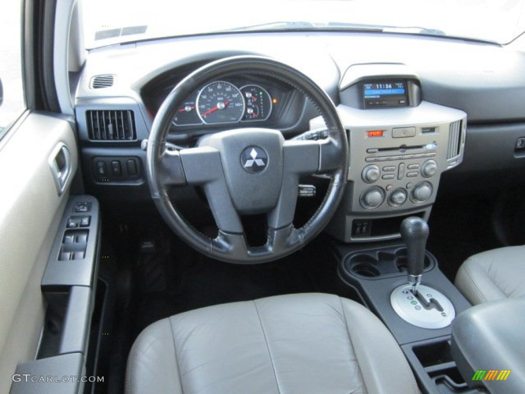 2004 Mitsubishi Endeavor Limited Awd Sandblast Beige Dashboard Photo 55060545