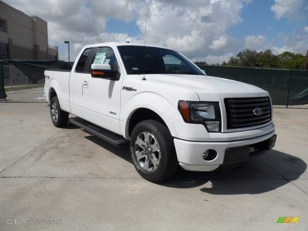 2011 oxford white ford f150 fx2 supercab 55019087 car color galleries. Black Bedroom Furniture Sets. Home Design Ideas