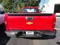 2012 Victory Red Chevrolet Silverado 1500 Work Truck Regular Cab  photo #4