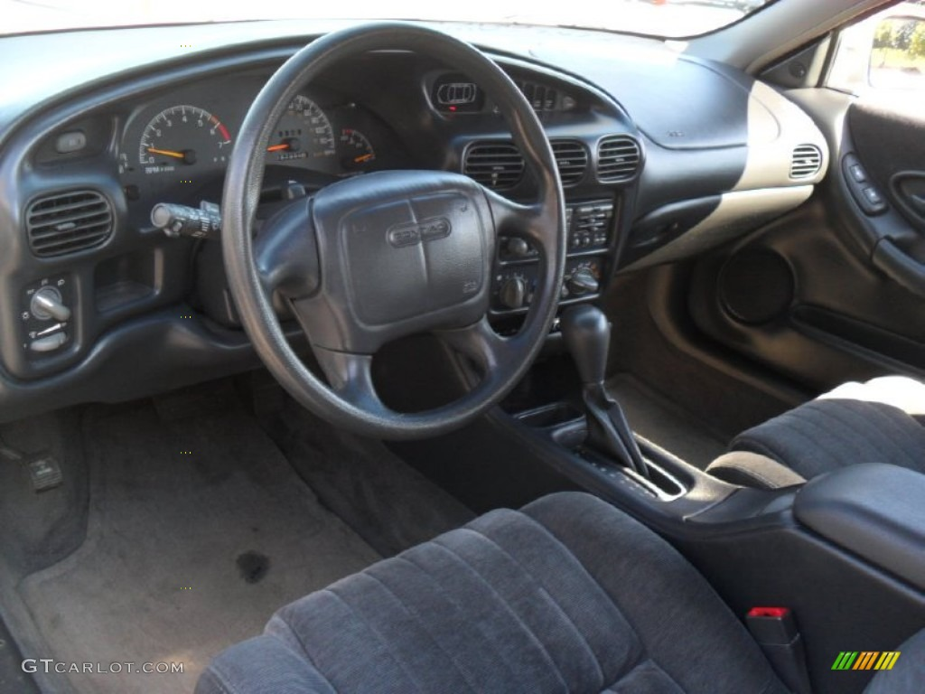 Graphite Interior 1999 Pontiac Grand Prix Gt Coupe Photo