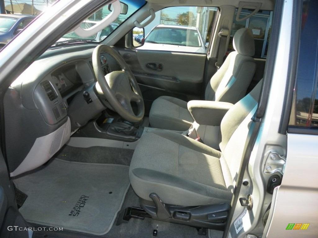 2003 mitsubishi montero sport ls 4x4 interior photos for Mitsubishi montero interior