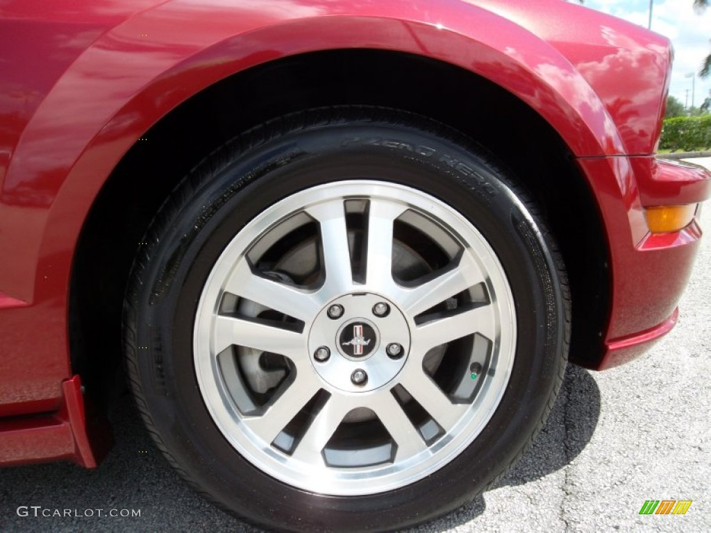 2006 Ford Mustang GT Premium Coupe Wheel Photo #55073704