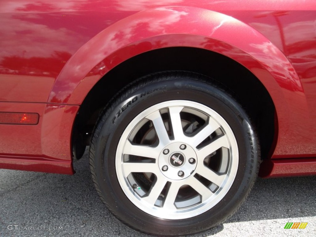 2006 Ford Mustang GT Premium Coupe Wheel Photo #55073716