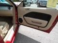 Light Parchment 2006 Ford Mustang GT Premium Coupe Door Panel