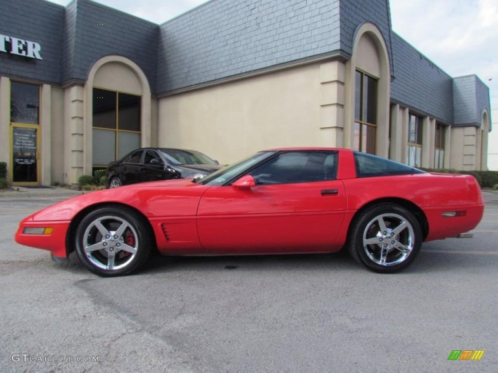 1996 Corvette Coupe Torch Red Black Photo 1