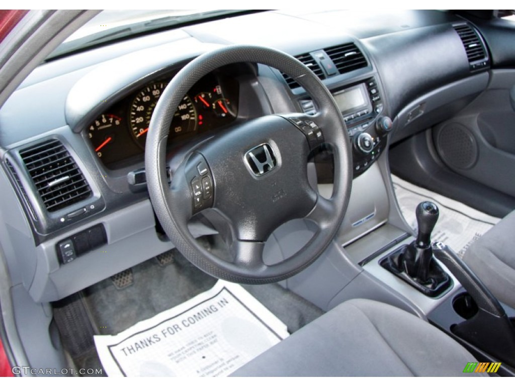 2004 Honda Accord EX Sedan Interior Photo #55075513