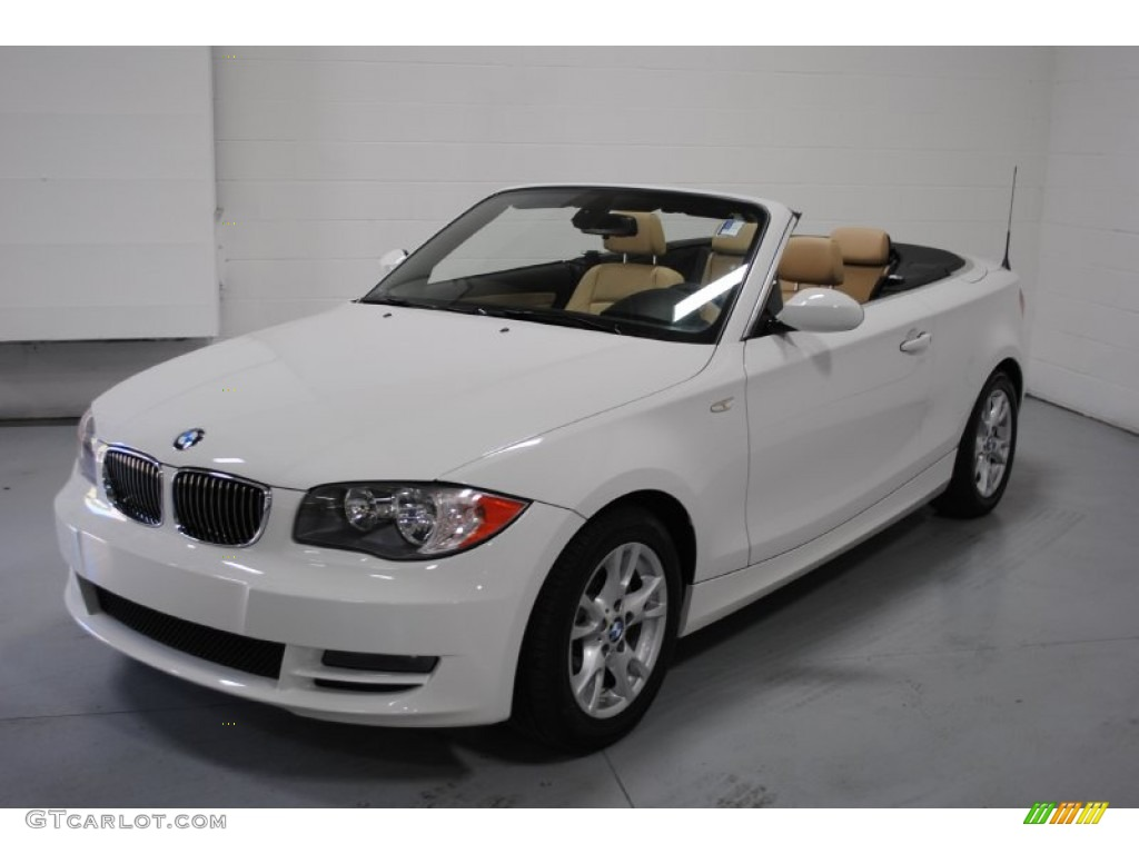 Bmw 128i convertible white