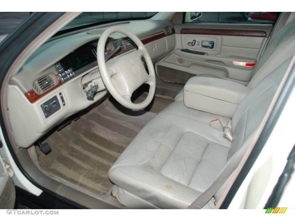 Shale Neutral Interior 1997 Cadillac Deville Sedan Photo 55082011