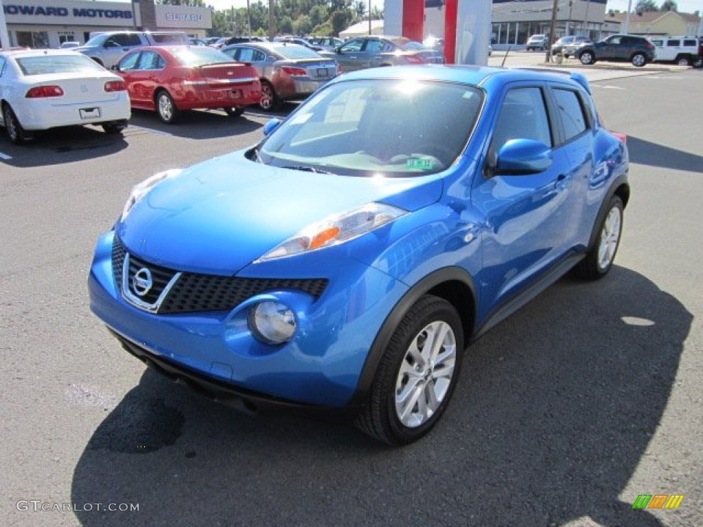 Electric Blue 2011 Nissan Juke SV AWD Exterior Photo ...