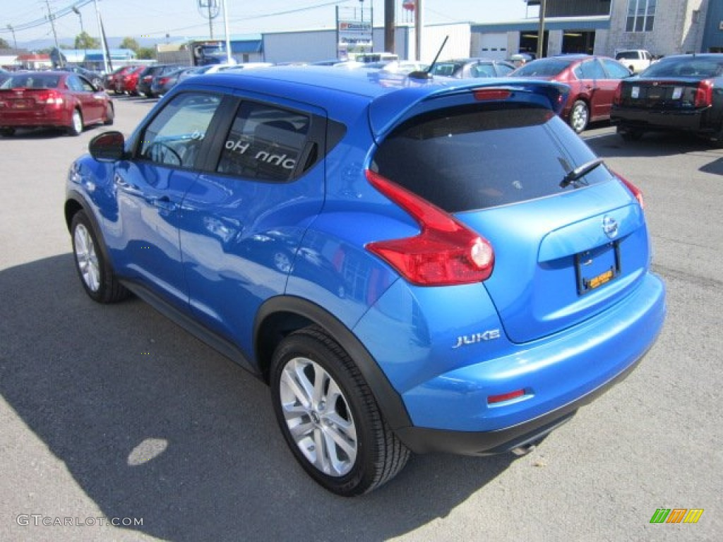 Electric Blue 2011 Nissan Juke Sv Awd Exterior Photo