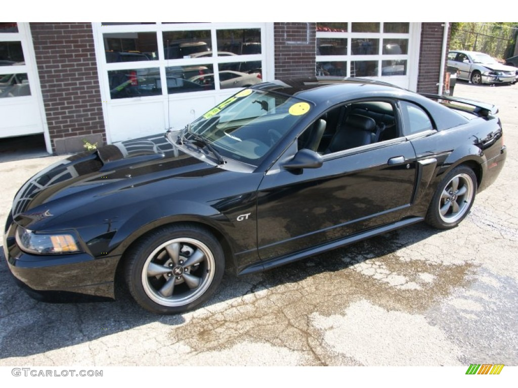 black 2001 ford mustang gt coupe exterior photo 55089181. Black Bedroom Furniture Sets. Home Design Ideas