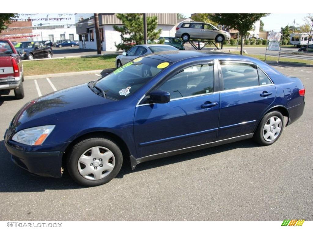 2005 Eternal Blue Pearl Honda Accord Lx Sedan 55073505