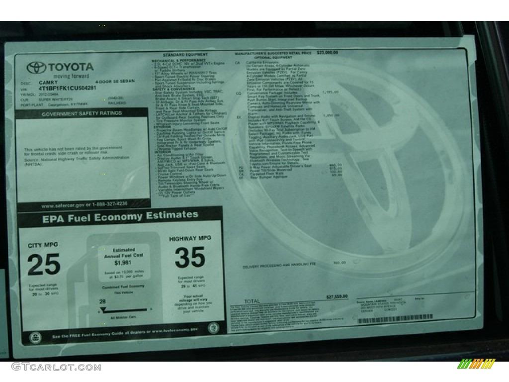 Toyota Sticker Lookup   Autos Post
