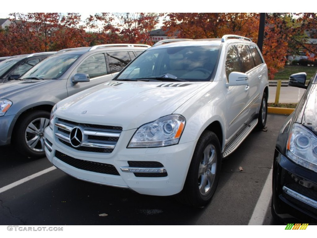 arctic white 2012 mercedes benz gl 450 4matic exterior photo 55114353. Black Bedroom Furniture Sets. Home Design Ideas
