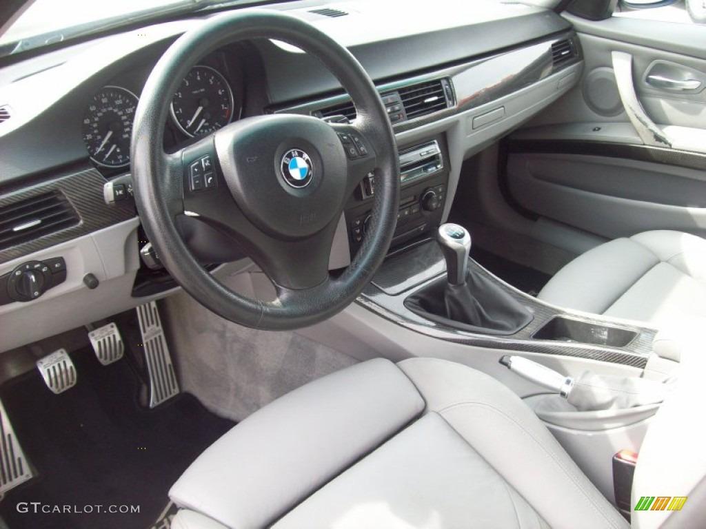 Black Interior 2006 BMW 3 Series 330i Sedan Photo