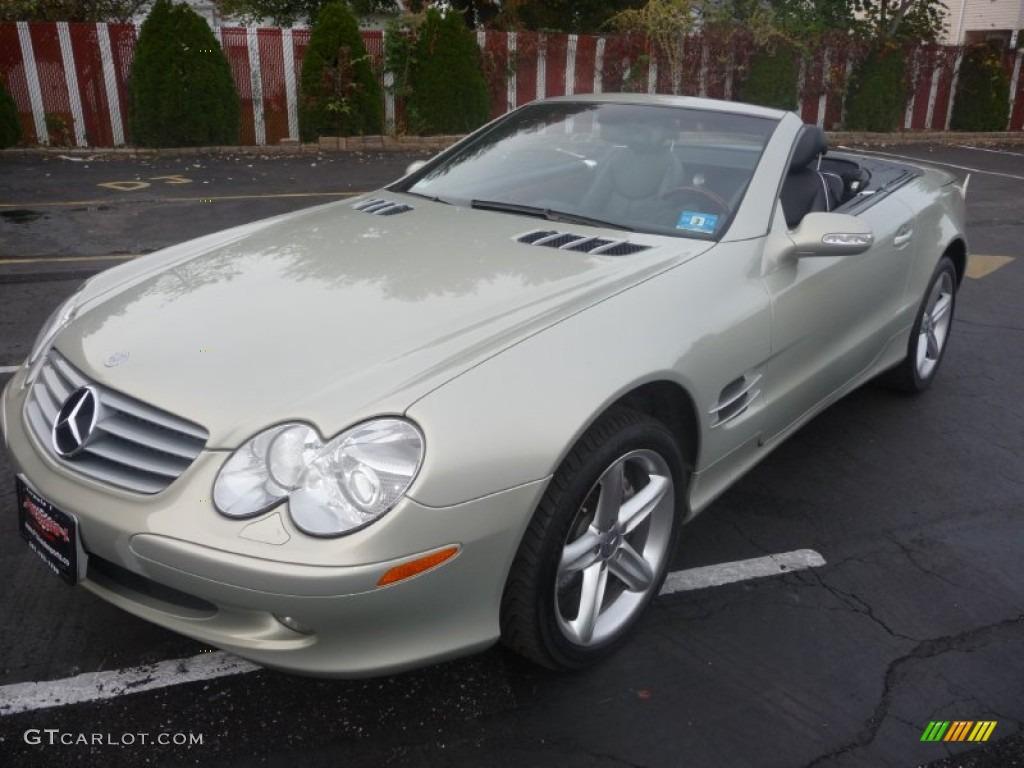 Designo silver metallic 2003 mercedes benz sl 500 roadster for Mercedes benz sl 500 2003
