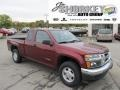 Deep Crimson Red Metallic 2007 Isuzu i-Series Truck i-290 LS Extended Cab