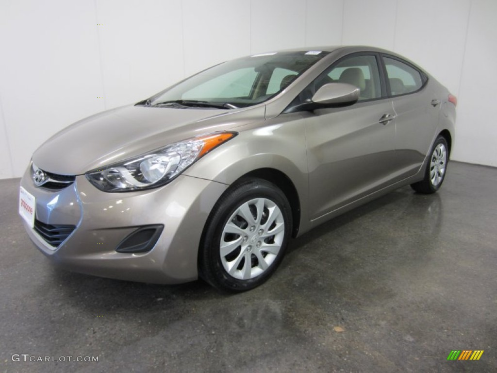 2011 Titanium Gray Metallic Hyundai Elantra Gls 55101490