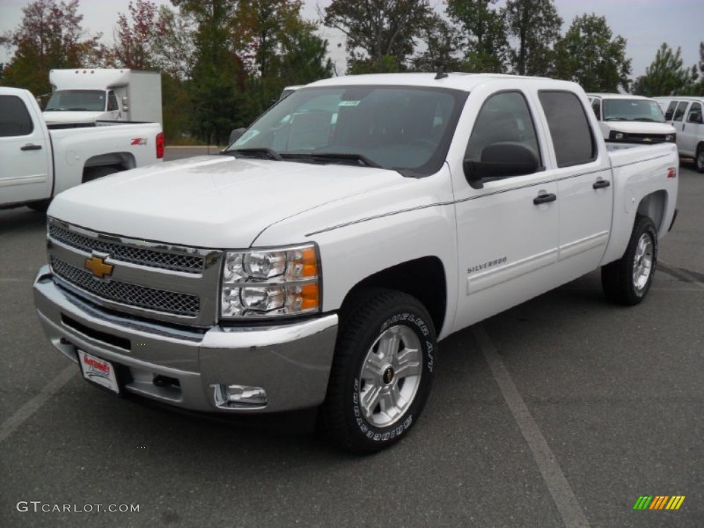 2012 Silverado 1500 LT Crew Cab 4x4 - Summit White / Ebony photo #1