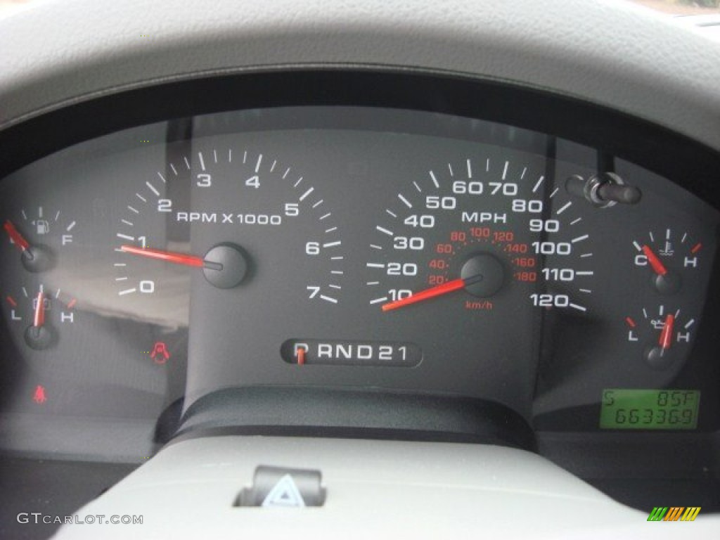 2006 Ford F150 XLT SuperCrew Gauges Photos